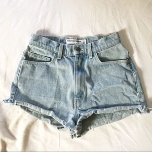 American Apparel vintage high waisted shorts